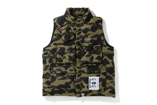 MULTI POCKET DOWN VEST