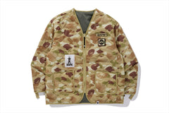 【 BAPE X ALPHA INDUSTRIES 】REVERSIBLE INNER JACKET