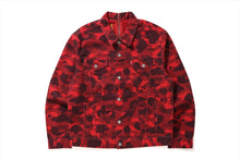 【 BAPE X LEVI'S 】COLOR CAMO TRUCKER JACKET
