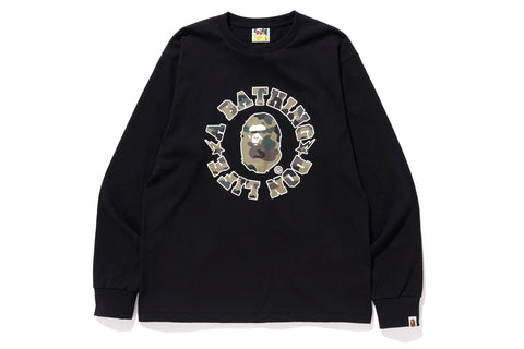 【 BAPE X BIG SEAN 】DON LIFE LONG SLEEVE TEE