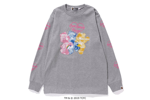 【 BAPE X CARE BEARS 】FRIENDS L/S TEE