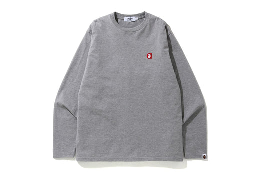 A PATCH L/S TEE