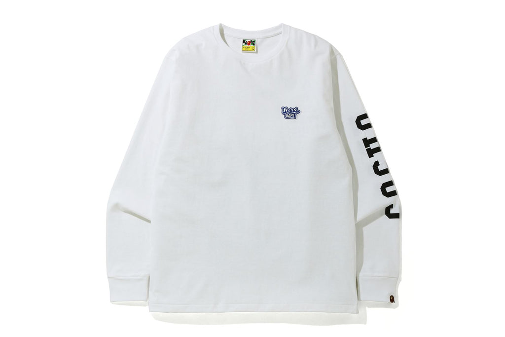 BLUE RIBBON ONE POINT LONG SLEEVE TEE
