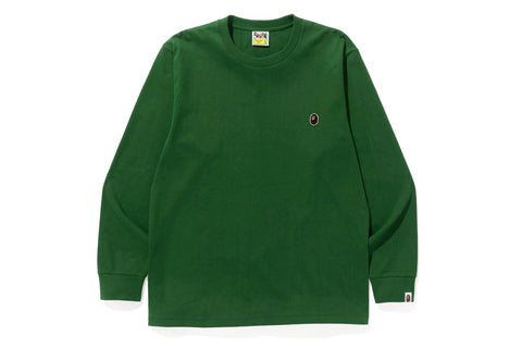 APE HEAD ONE POINT L/S TEE