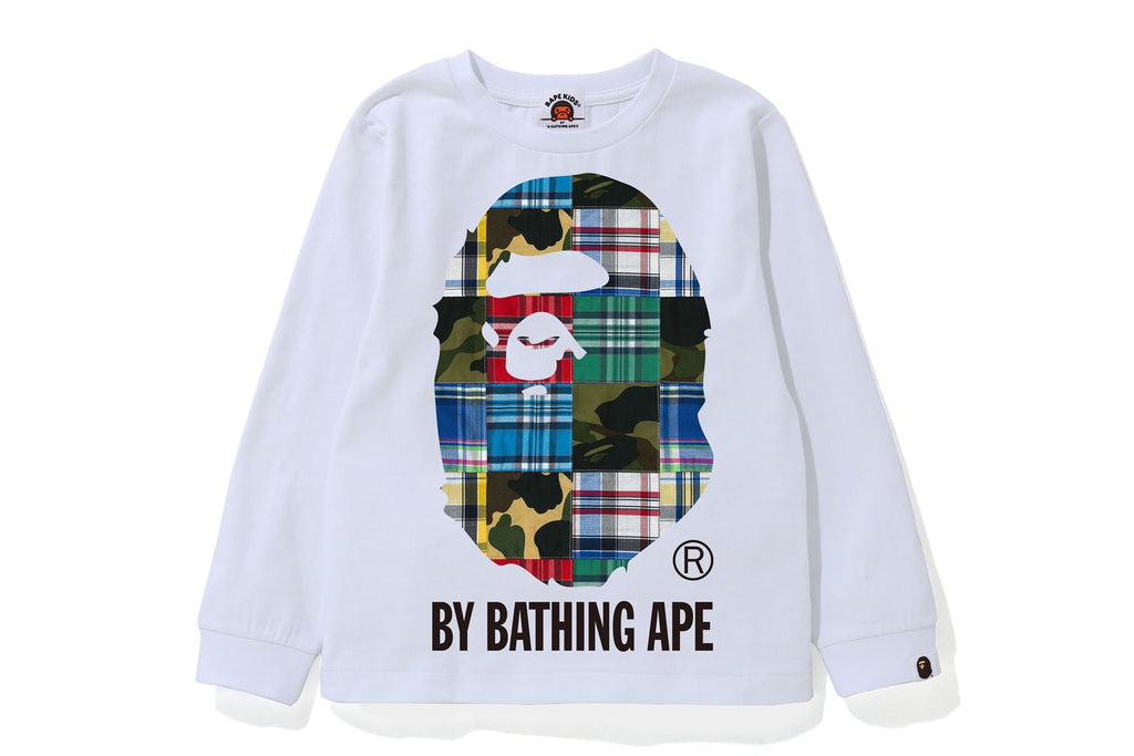 PATCHWORK BY BATHING APE L/S TEE