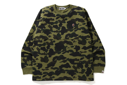 1ST CAMO RELAXED FIT L/S TEE