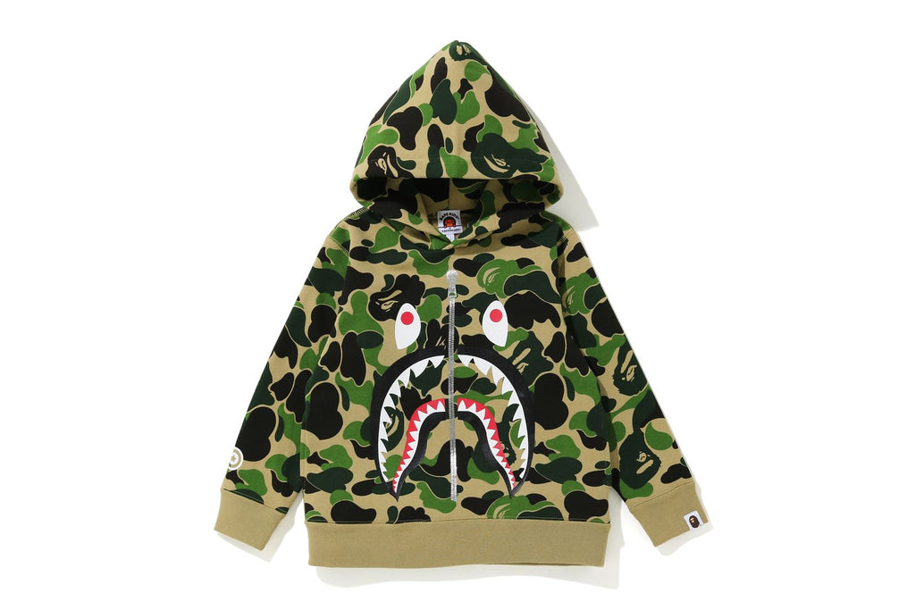 ABC CAMO SHARK PULLOVER HOODIE