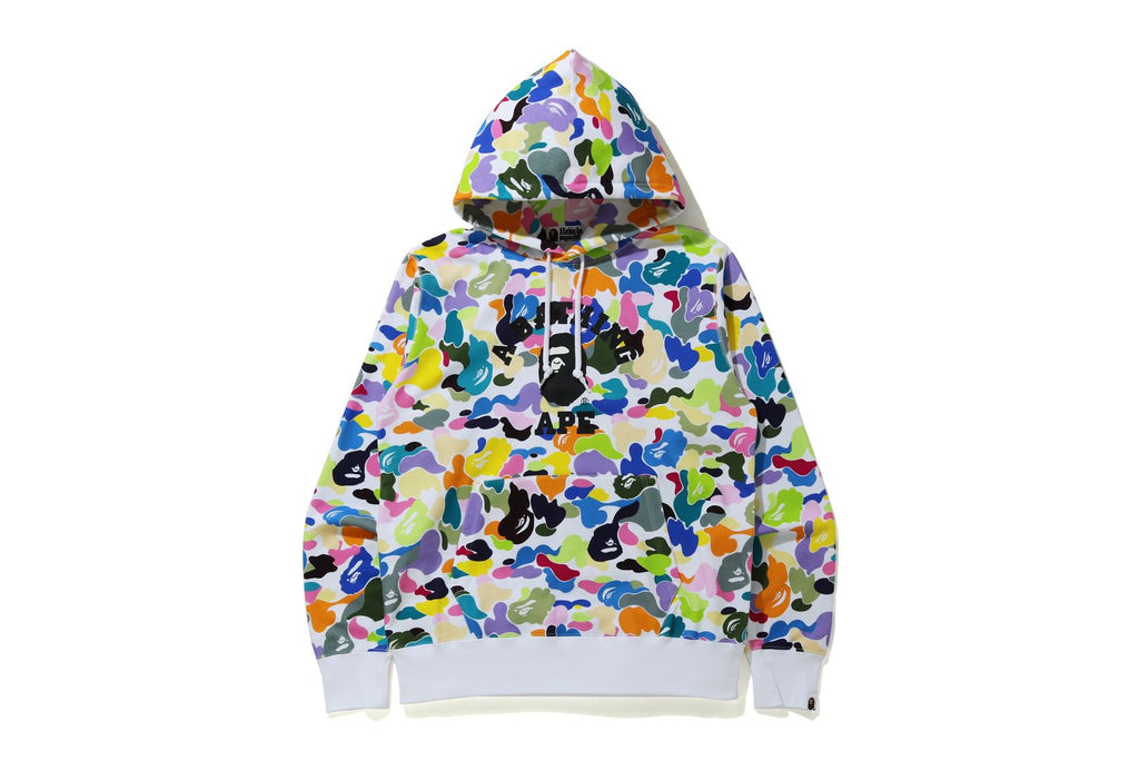MULTI CAMO WIDE FIT PULLOVER HOODIE