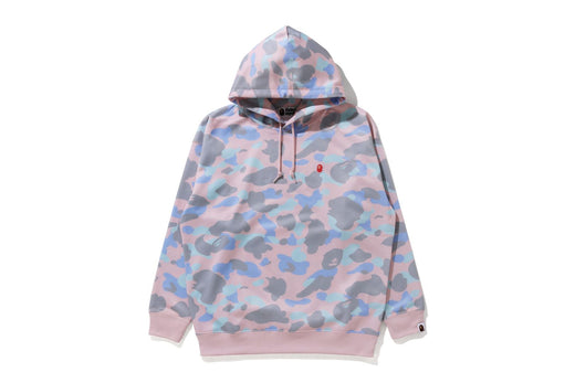 PASTEL MULTI CAMO OVERSIZED PULLOVER HOODIE