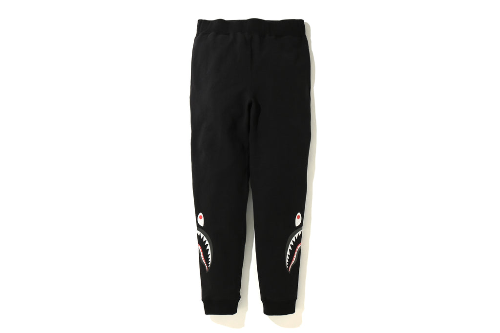 COLOR CAMO SIDE SHARK SLIM SWEAT PANTS