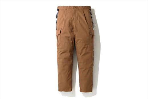 SIDE TAPE STRETCH 6POCKET PANTS