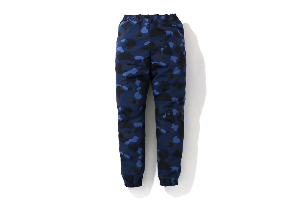 COLOR CAMO TRACK PANTS