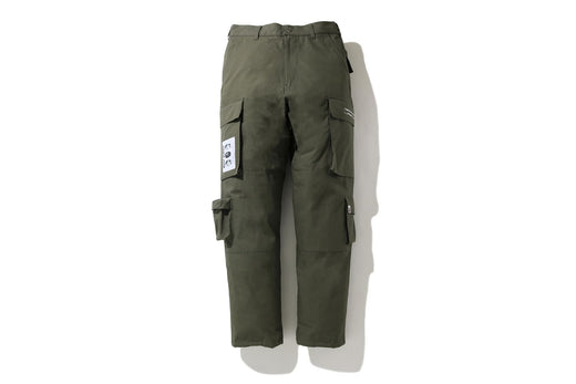 MULTI POCKET LOOSE FIT CARGO PANTS