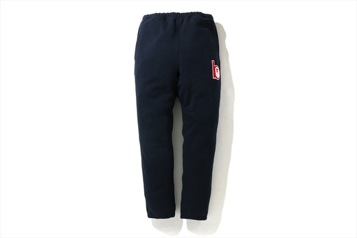 B PATCH SWEAT PANTS