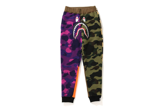 CRAZY CAMO SHARK SLIM SWEAT PANTS
