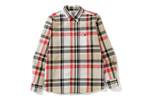 BAPE CHECK SHIRT