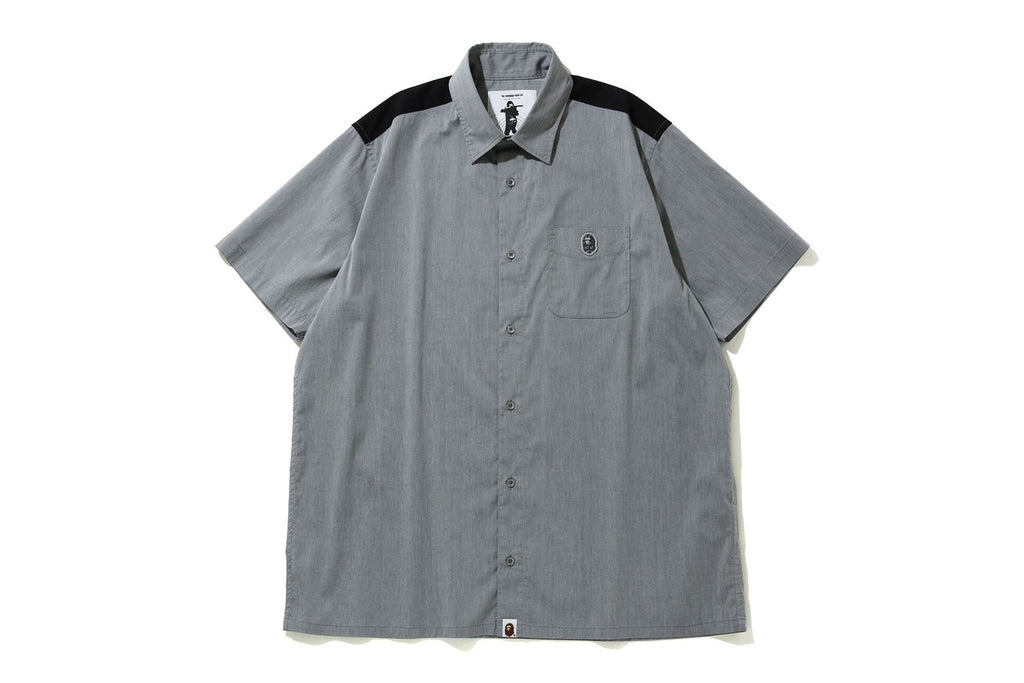 RELAXED STRETCH S/S SHIRT