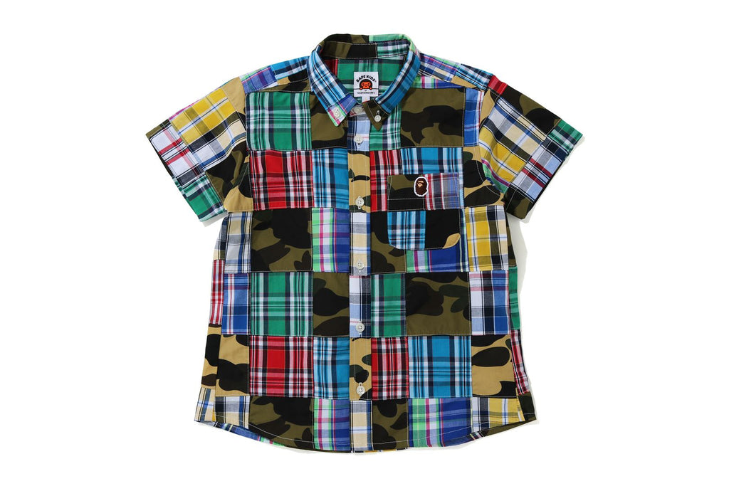 PATCHWORK BD S/S SHIRT