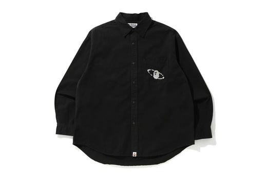 WASHED TWILL LOOSE FIT SHIRT