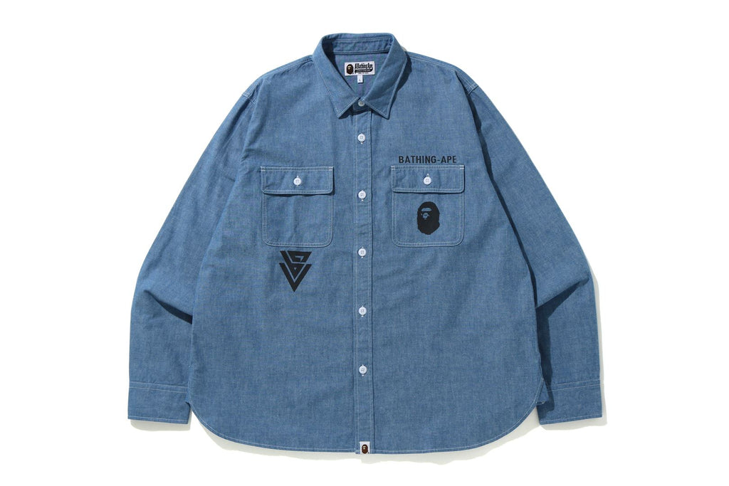 CHAMBRAY RELAXED SHIRT