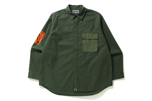 LOOSE FIT ARMY SHIRT