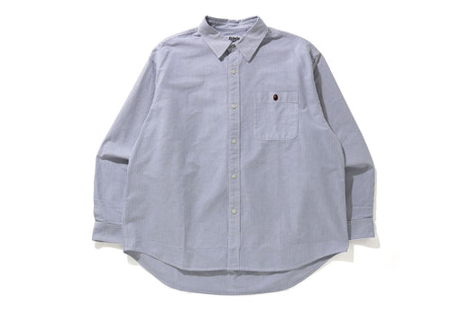STRIPE ONE POINT LOOSE FIT SHIRT