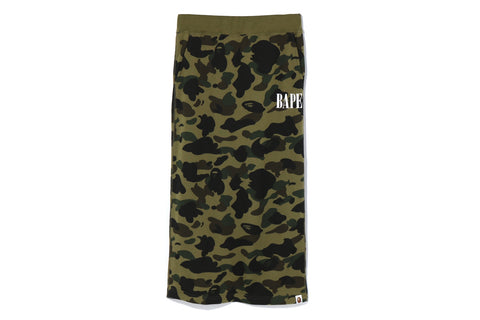 1ST CAMO LONG SKIRT
