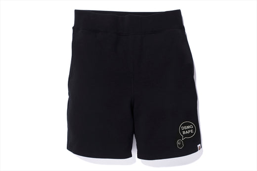 【 BAPE X DSMG 】SWEAT SHORTS