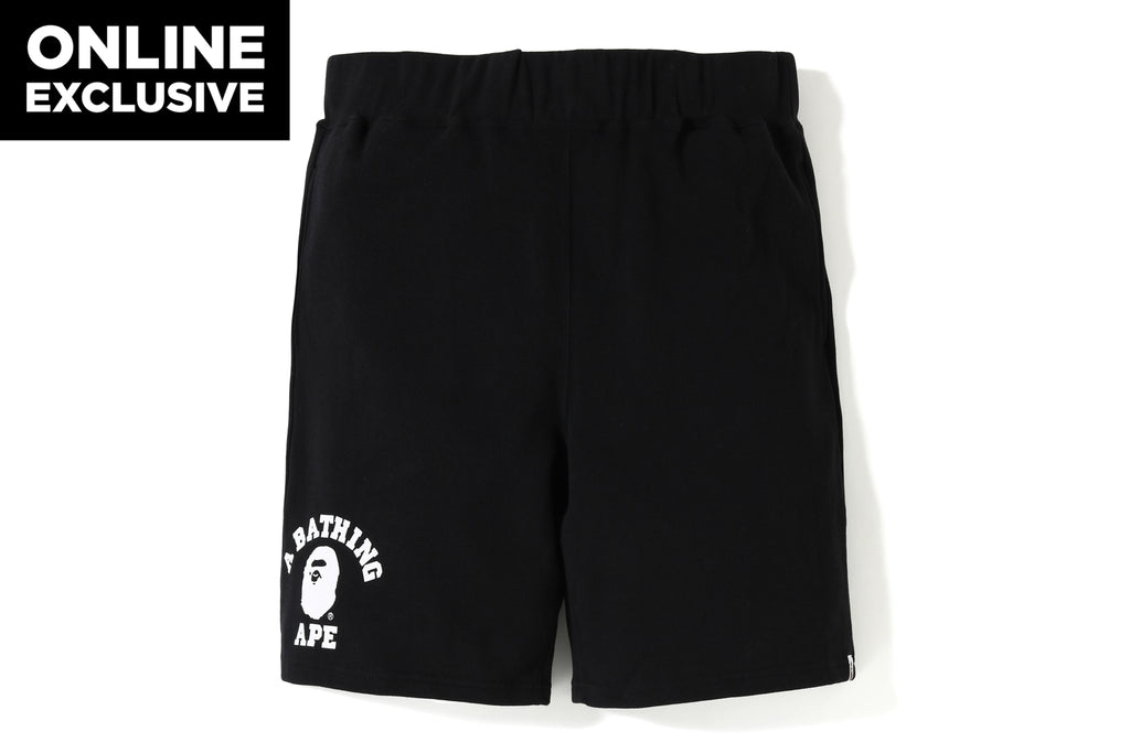 COLLEGE SWEAT SHORTS -ONLINE EXCLUSIVE-