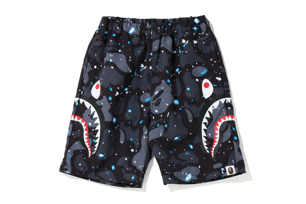 SPACE CAMO SIDE SHARK BEACH PANTS