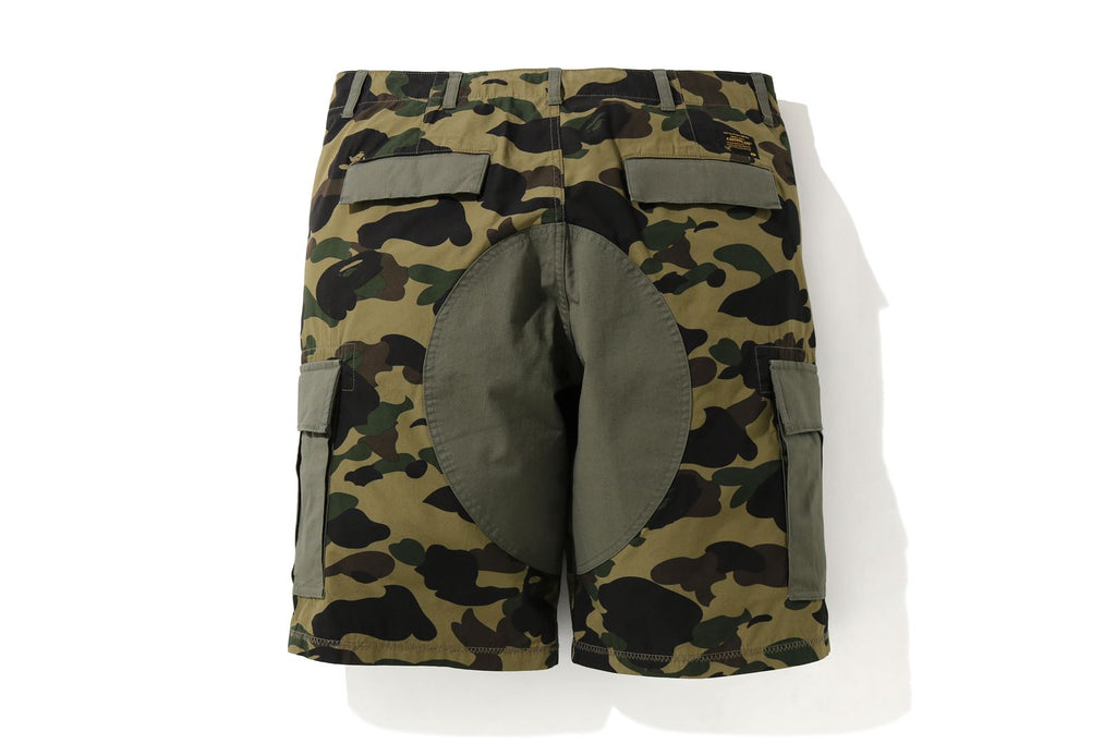 1ST CAMO WIDE 6POCKET SHORTS