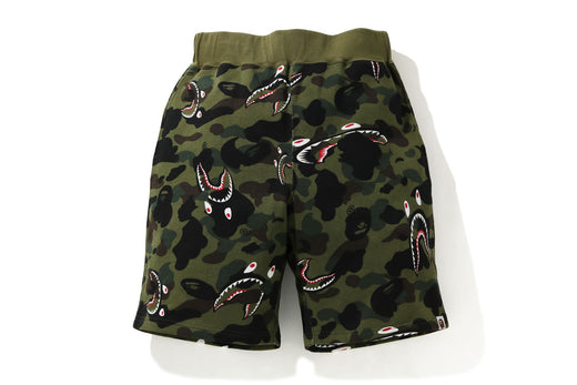SHARK 1ST CAMO WIDE SWEAT SHORTS