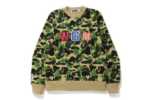 ABC CAMO SHARK CREWNECK