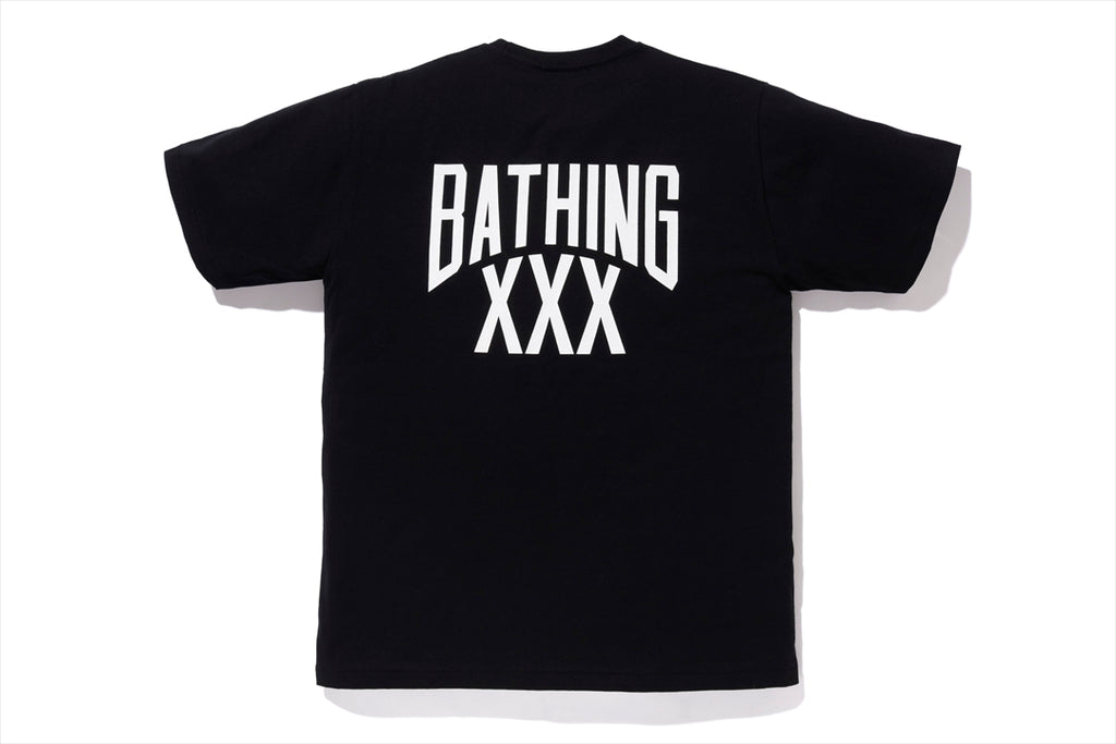 【 BAPE X GOD SELECTION XXX 】NYC LOGO TEE