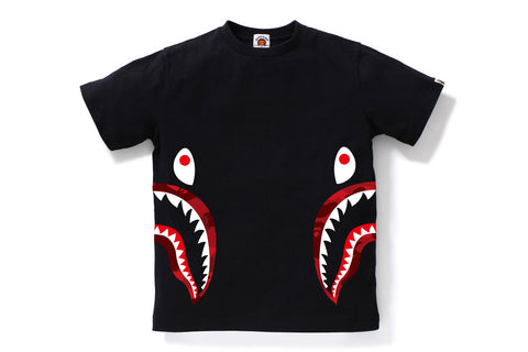 COLOR CAMO SIDE SHARK TEE