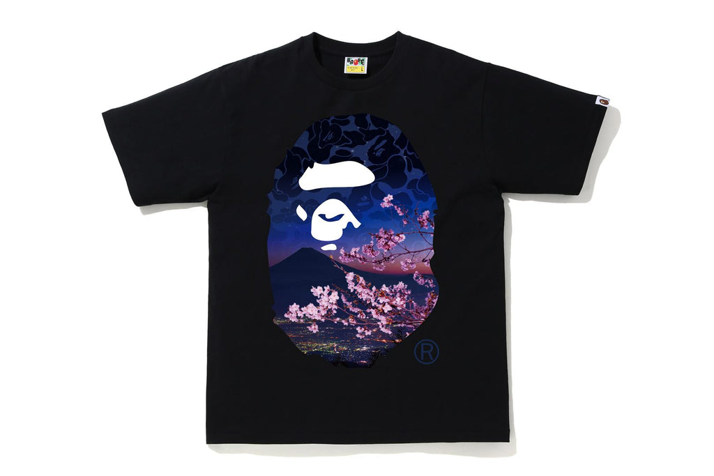 SAKURA PHOTO APE HEAD TEE