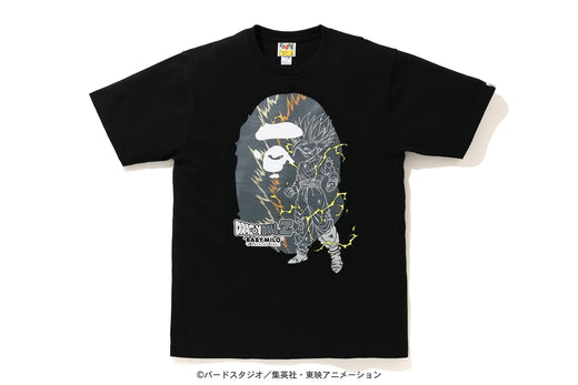 【 BAPE X DRAGON BALL Z 】SON GOHAN BIG APE HEAD TEE