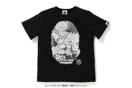 【 BAPE X DRAGON BALL Z 】BIG APE HEAD TEE
