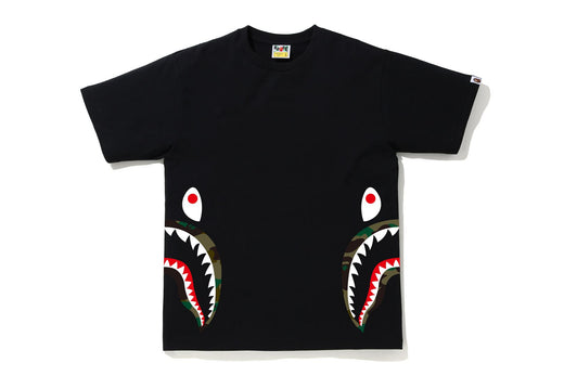 1ST CAMO SIDE SHARK TEE