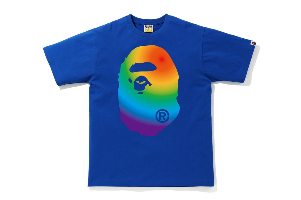 RAINBOW BIG APE HEAD TEE