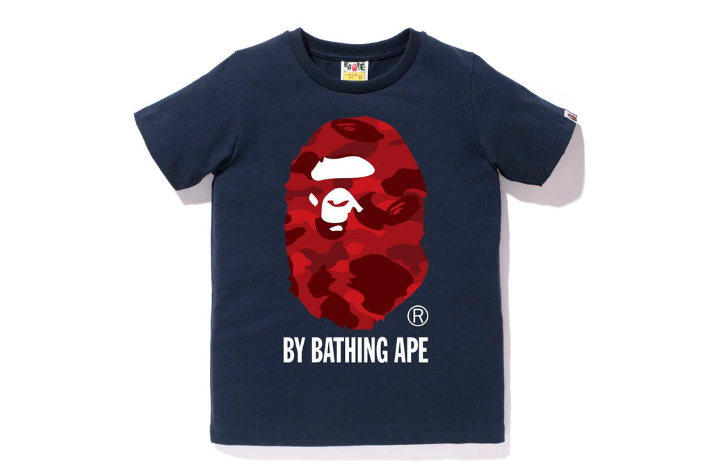 COLOR CAMO BY BATHING APE TEE