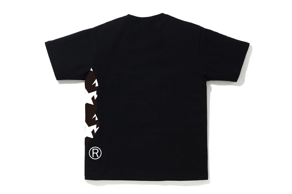 STA PATTERN SIDE BIG APE HEAD TEE