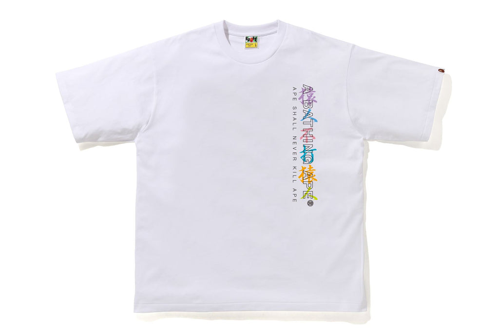 MULTI CAMO KANJI RELAXED FIT TEE
