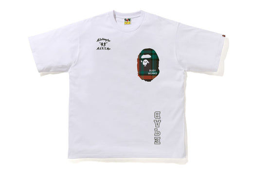 BAPE CHECK RELAXED FIT TEE