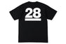 BAPE 28TH ANNIV. APE HEAD TEE