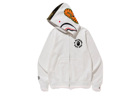 【 BAPE X BIG SEAN 】SHARK FULL ZIP HOODIE