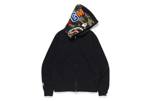 【 BAPE X PUSHA-T 】SHARK FULL ZIP HOODIE