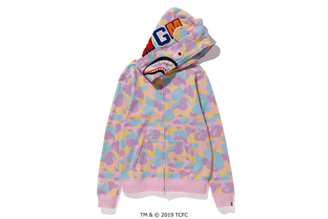 【 BAPE X CARE BEARS 】FULL ZIP HOODIE