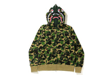 BIG ABC CAMO SHARK WIDE FIT FULL ZIP DOUBLE HOODIE