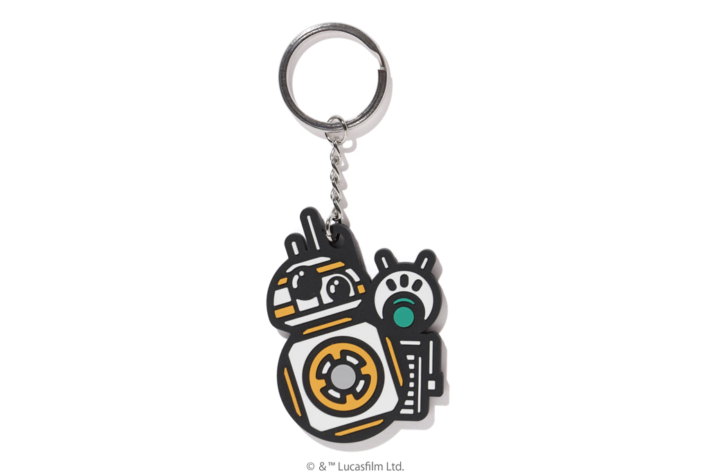 【 BAPE X STAR WARS 】BB8 & D-O KEY CHAIN